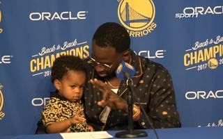 Golden State Warriors: Baby von Draymond Green verzückt die NBA