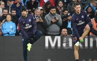Neymar (l.) und Julian Draxler gewannen mit PSG die französische Meisterschaft