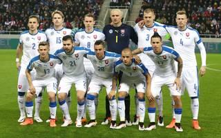 Mannschaftsfoto von Slowakei