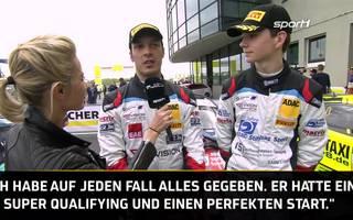 ADAC GT4 Germany: Siegerinterview: Piana und Zug