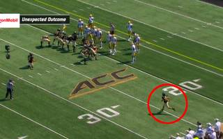 College Football: Kicker von Wake Forest verpasst Einsatz und Field Goal