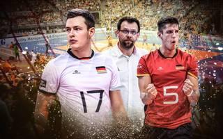 Jan Zimmermann und Moritz Reichert wollen zusammen mit Trainer Cedric Enard in Berlin Erfolg