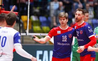 Die United Volleys Frankfurt fordern in der Volleyball-Bundesliga die Berlin Recycling Volleys