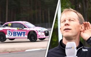 WRX: SPORT1-Kommentator Patrick Simon und Mattias Ekström mit Selbstversuch