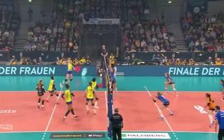 DVV Pokal Finale: Schweriner SC vs. Allianz MTV Stuttgart