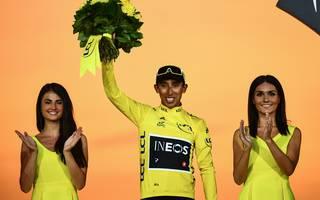 Egan Bernal ist der erste Tour-de-France-Sieger aus Kolumbien