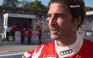 Zwischen den beiden Fahrer-Legenden Lucas Luhr und Marco Werner hat es am Hockenheimring gekracht.