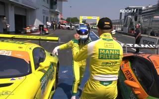 ADAC GT Masters: Indy Dontje und Maximilian Buhk nach Sieg am Nürburgring