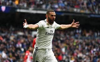 Real Madrids Stürmerstar Karim Benzema war der Matchwinner gegen Athletic Bilbao