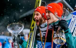 Nordische Ski-WM 2019: Skispringer mit Wellinger, Leyer, Eisenbichler, Geiger, Markus Eisenbichler und Stephan Leyhe wollen auch der WM jubeln