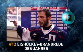 SPORT1-Adventskalender - Türchen 12: Die Eishockey-Wutrede des Jahres