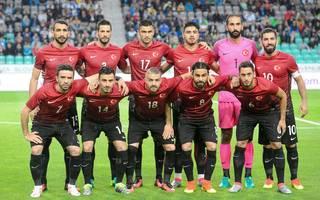 Mannschaftsfoto von Türkei