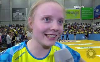 Volleyball-Bundesliga: SSC Palmberg Schwerin - SC Potsdam (3:0) | Interviews