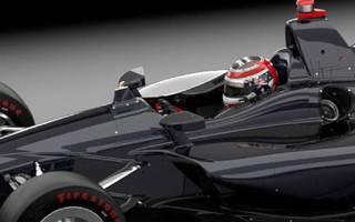 AFP: Der neue IndyCar-Cockpitschutz ist ein kleiner Titan-Aufsatz vor dem Cockpit
