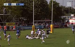 Rugby: Deutschland verliert Play-Offs gegen Samo und verpasst die WM