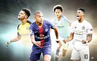 Potenzielle Weltfußballer