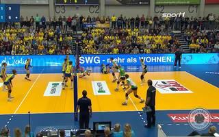 Volleyball Bundesliga: SSC Palmberg Schwerin gewinnt gegen USC Münster