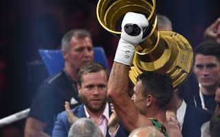 Oleksandr Usyk und Callum Smith (im Bild) sind die bisherigen Sieger der Muhammad Ali Trophy