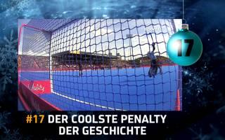 Adventskalender - Türchen 17: Der coolste Penalty der Geschichte