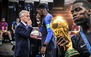 Paul Pogba krönte sich mit Frankreich im WM-Finale gegen Kroatien zum Weltmeister