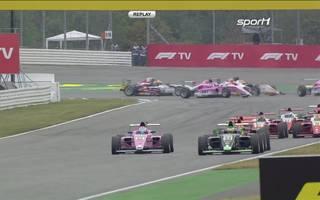 ADAC Formel 4: Das zweite Rennen der Formel 4 in Hockenheim mit David Schumacher