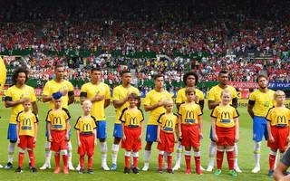Mannschaftsfoto von Brasilien