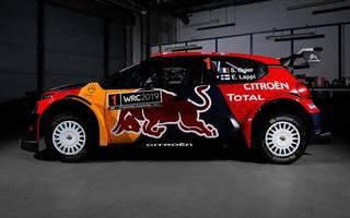 Mit Sebastien Ogier kam bei Citroen auch Sponsor Red Bull an Bord