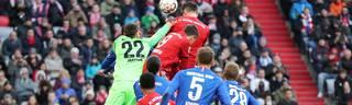 Javier Martinez erzielte das 1:0 für den FC Bayern gegen Hertha BSC