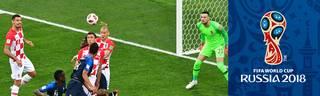 FIFA WM 2018: Frankreich - Kroatien (4:2) - Alle Tore und Highlights