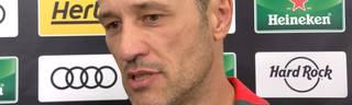 Niko Kovac im Interview nach dem Sieg über PSG beim ICC