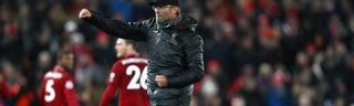 Jürgen Klopp feierte gegen Manchester United seinen ersten Sieg als Liverpool-Trainer