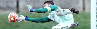 Dinko Horkas ist derzeit bei Dinamo Zagreb unter Vertrag und U21-Nationaltorwart seines Landes