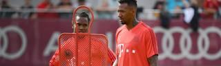 Gut möglich, dass sich der FC Bayern noch von Jérôme Boateng (r.) oder Renato Sanches trennen wird