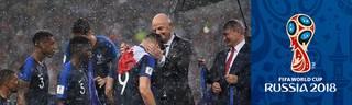 FIFA WM 2018: Pokalfeier mit Putin, Emotionen und Klau einer Medaille