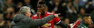 Jose Mourinho scheint mit Paul Pogba nicht mehr glücklich werden