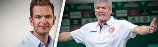 Tobias Holtkamp (l.) schreibt als Chef-Kolumnist die wöchentliche Bundesliga-Kolumne für SPORT1