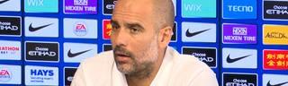 Pep Guardiola wehrt sich gegen die Foul-Vorwürfe von Ole Gunnar Solskjaer