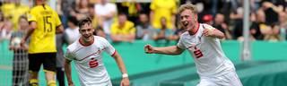 Der 1. FC Köln jubelt über die Deutsche Meisterschaft