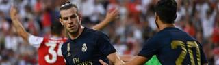 Gareth Bale (l.) soll Real Madrid im Sommer verlassen