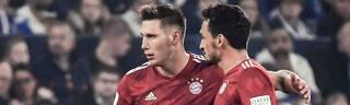 Niklas Süle (li.) ist laut Trainer Niko Kovac die klare Nummer Eins in der Bayern Abwehr