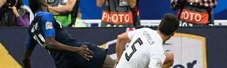 Mats Hummels verursachte kurz vor Schluss einen Elfmeter gegen Frankreich