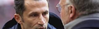 Hasan Salihamidzic (l.) ist der Sportdierektor des FC Bayern München