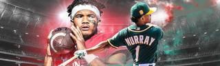 Quarterback Kyler Murray ist in der NFL heiß begehrt, hat aber bereits einen MLB-Vertrag