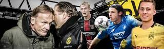 Hans-Joachim Watzke (l.) wollen im kommenden Jahr den FC Bayern angreifen