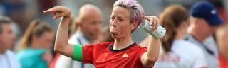 Megan Rapinoe zeigt bei Länderspielen offen ihren Protest gegen die Regierung Donald Trumps