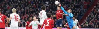 Bundesliga: FC Bayern - FC Augsburg 1:1 - Manuel Neuer patzt