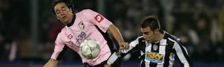 Luca Toni, US Palermo, Zwangsabstieg