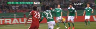 SV Werder Bremen - FC Bayern München (2:3) | Volkswagen Pokalfieber
