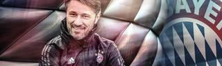 Trainer Niko Kovac begegnet den schwierigen Münchner Wochen mit demonstrativem Optimismus