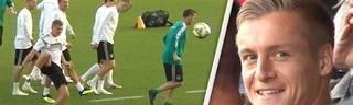 Real Madrid Star Toni Kroos schießt Bruder Felix Kroos ab